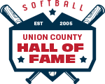 Union County Softball Hall of Fame Logo