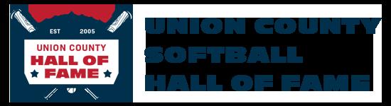 Union County Softball Hall of Fame Logo